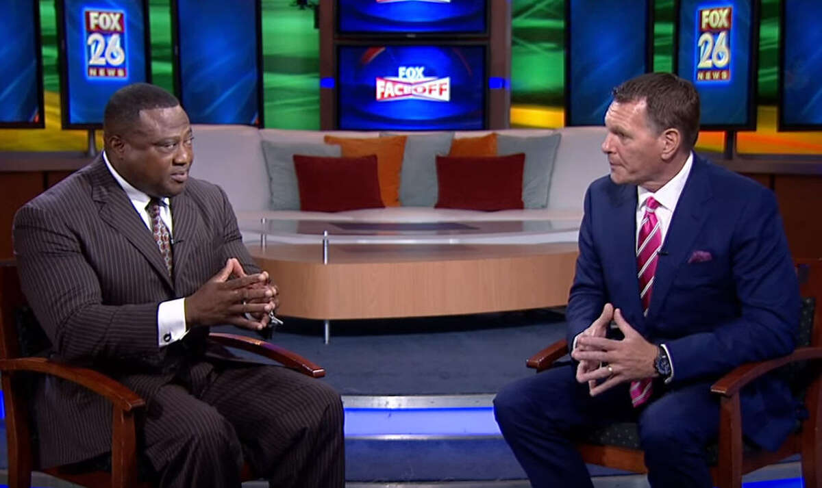 During their regular KRIV-TV segment on Thursday, Aug. 25, 2016, Houston's New Black Panther Party leader Quanell X and KTRH-AM morning host Matt Patrick discussed the upcoming presidential election.