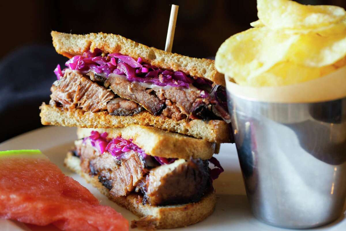 MainStreet America in Spring has opened a new barbecue restaurant, MC Barbecue & Southern Kitchen. Shown: Grilled Reuben.