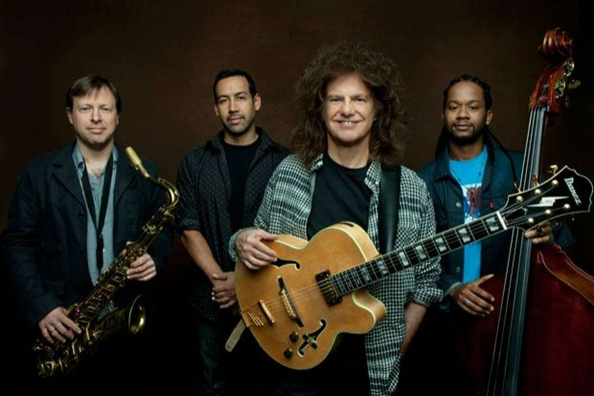 Pat Metheny and the Unity Band, l-r: Chris Potter, Antonio Sanchez, Pat Metheny, Ben Williams