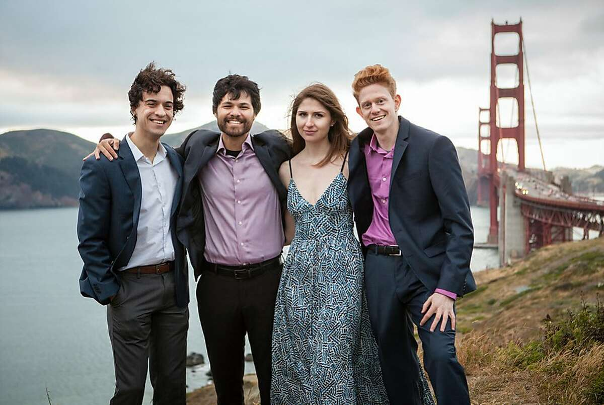 The Friction Quartet performs Friday night at Old First Church in San Francisco