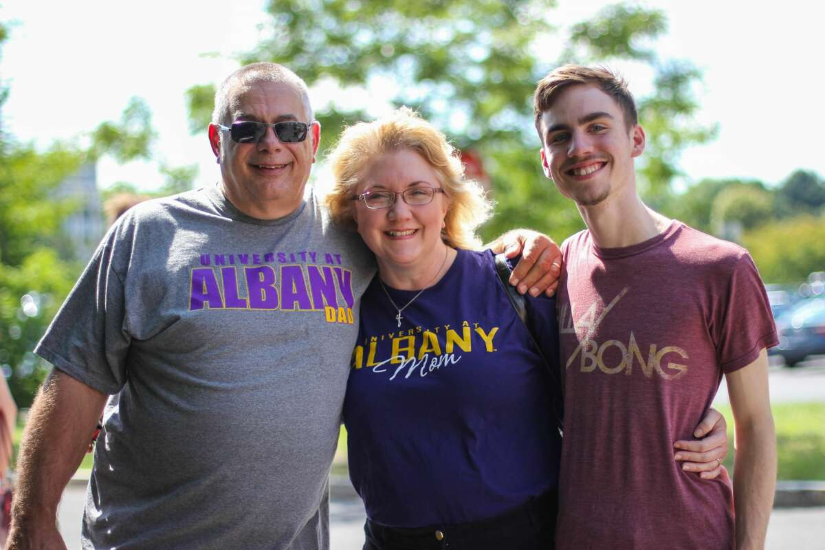 Were you Seen at Move-in Day for freshmen and transfer students at UAlbany on Thursday, Aug. 25 and Friday, Aug. 26, 2016?