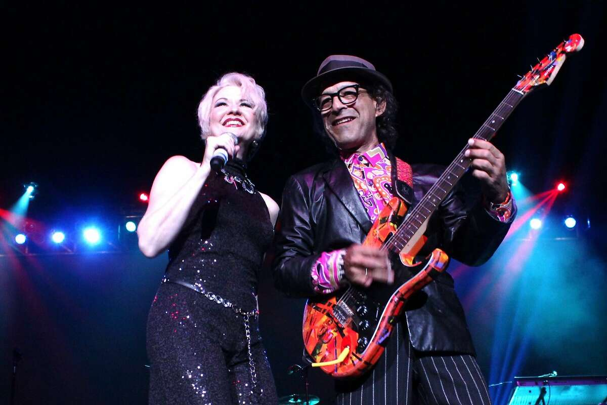 Nu Shooz performs as part of the Lost 80s Live tour.