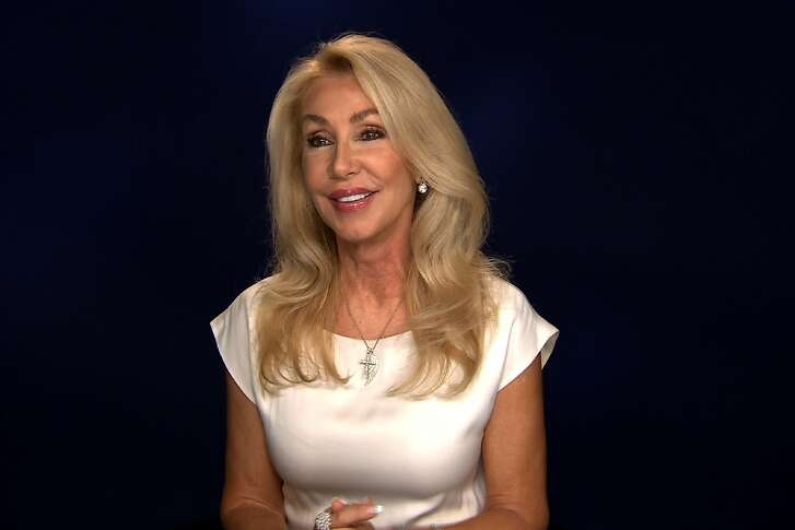 "This Aug. 23, 2016 photo taken from video shows Linda Thompson during an interview in New York. Thompson, who was engaged to Elvis Presley and married to Bruce Jenner and David Foster, has authored a book called, ""A Little Thing Called Life."" (AP Photo/Bruce Barton)"