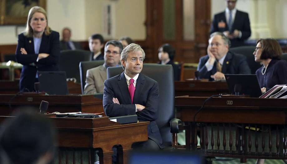 Two Texas lawmakers got into an argument on Friday over the prevalence of non-citizen voting in Texas. (Senator Don Huffines pictured above.)