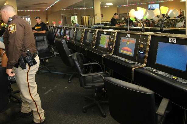 The Fort Bend County Sheriff's Office shut down an illegal game room on Aug. 25, 2016. A total of $13,000 and 60 machines were seized.