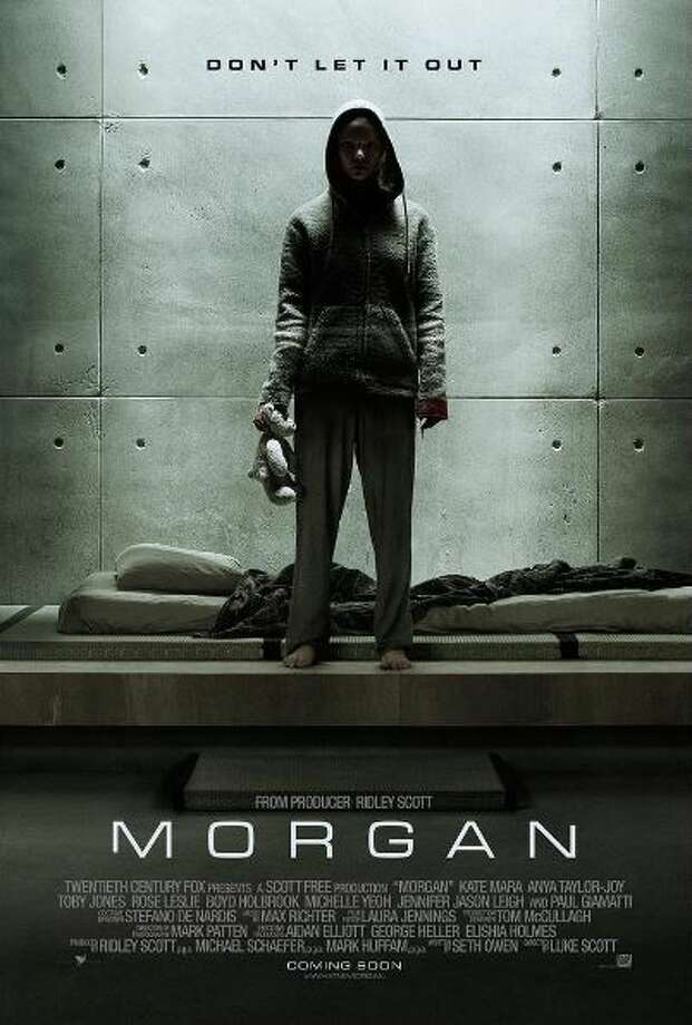 Morgan coming September 2.A corporate risk-management consultant must decide whether or not to terminate an artificially created humanoid being. Starring Kate Mara, Anya Taylor-Joy, Rose Leslie, Michael Yare. Photo: Instagram.com/morganmovie