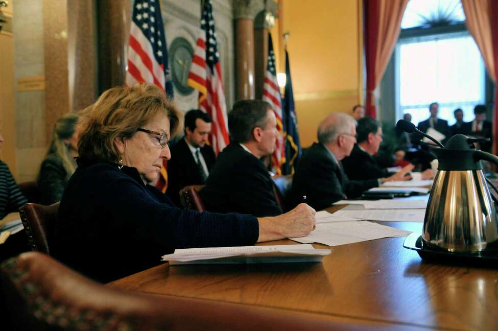 Senator Betty Little takes part in a Senate Standing Committees on Health Insurance Roundtable on Wednesday, Jan. 6, 2016 at the Capitol in Albany New York. (Paul Buckowski / Times Union archive)