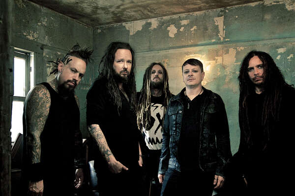 Return of the Dreads Tour, featuring metal music legends Rob Zombie and Korn (above), will bring the 25-city North American tour to Hartford on Thursday, Sept. 1.