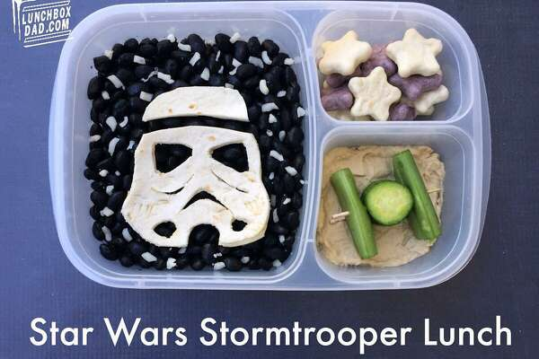 Fremont dad Beau Coffron has fun making creative lunches for his kids. Find his work at lunchboxdad.com .