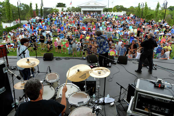 Raw Oyster Cult performs at the seventh annual Blues, Views and BBQ Festival in Westport. The band also will perform at this year's festival, set for Saturday and Sunday, Sept. 3 and 4.