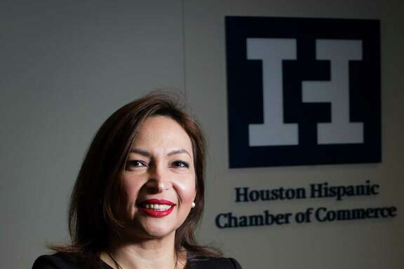 Diva Herazo, is a board member for the Houston Hispanic Chamber of Commerce and a Colombian immigrant who started a mobile dentist business called Biomedent. The company provides mobile dental services in Houston. Thursday, Aug. 25, 2016, in Houston. ( Marie D. De Jesus / Houston Chronicle )