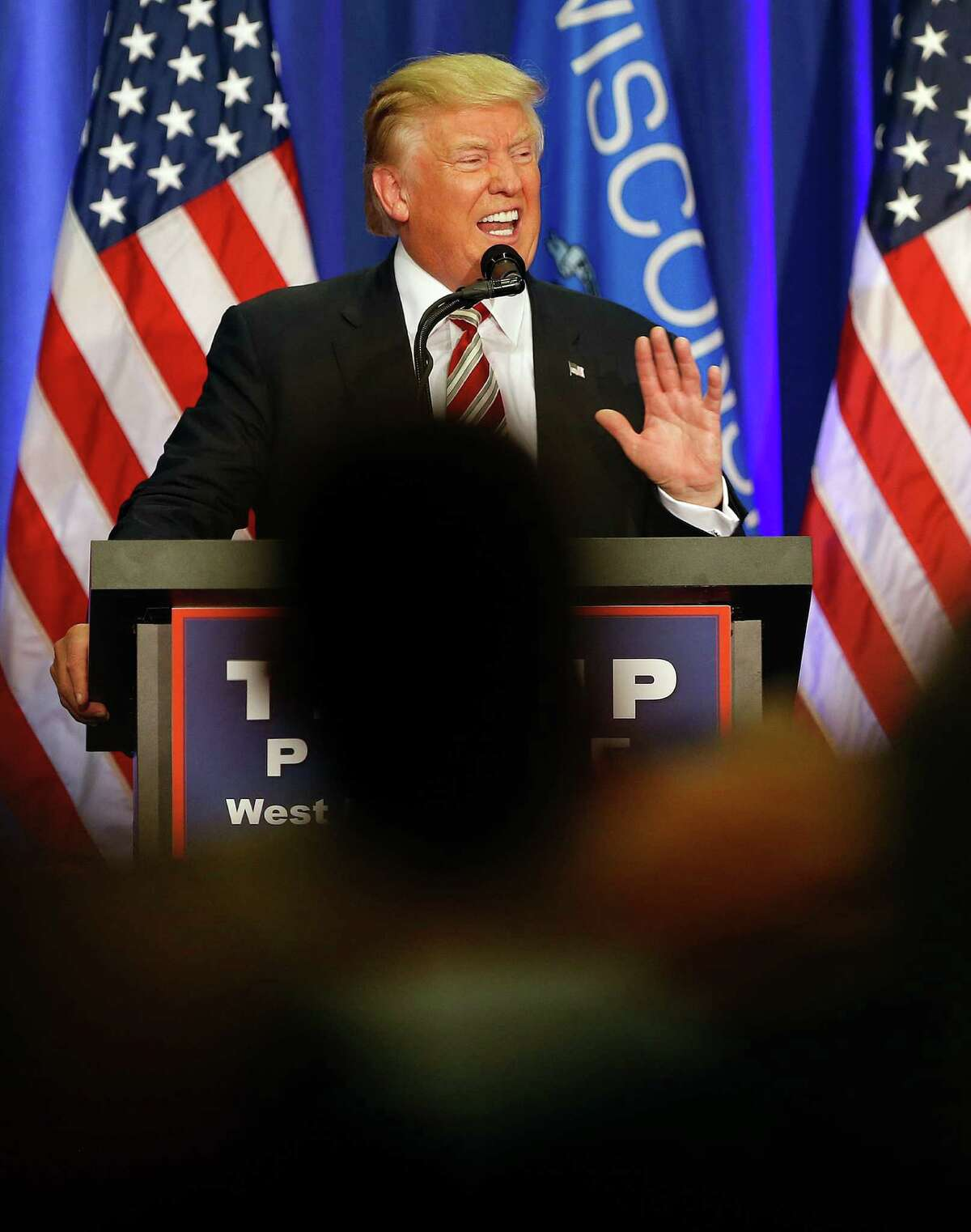 Republican presidential candidate Donald Trump speaks at a campaign rally in West Bend, Wisconsin on Aug. 16. His candidacy is testing Americans' friendships with one another.