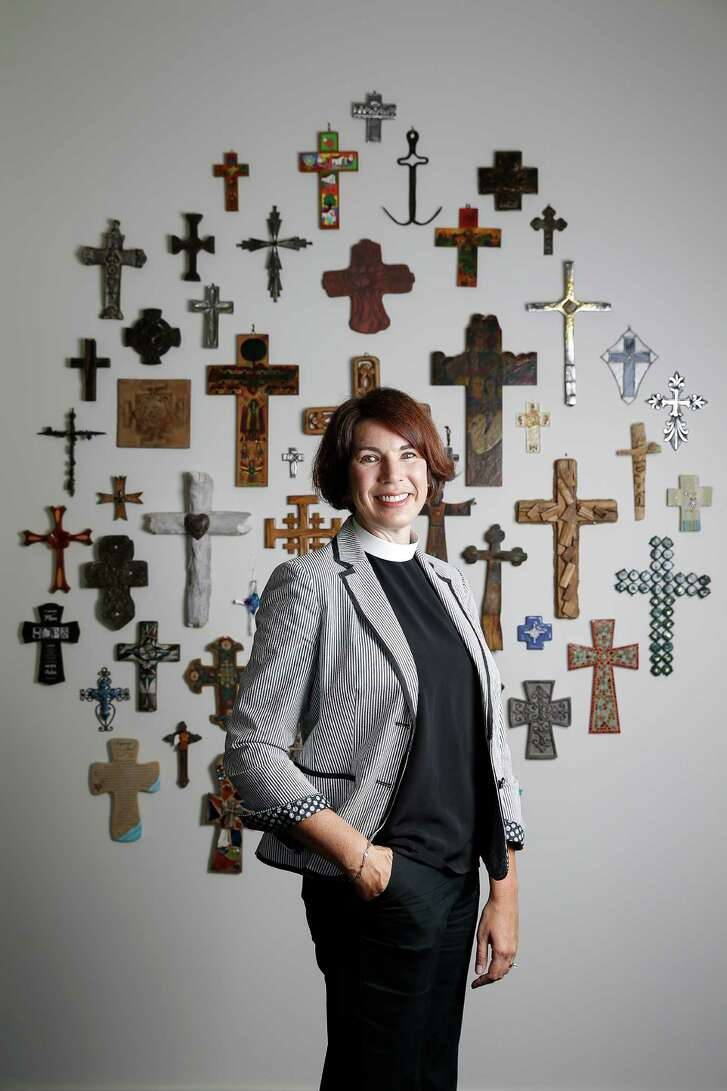 Rev. Kathleen Davies is the pastor of Servant-Savior Presbyterian, a church that she says welcomes everybody.