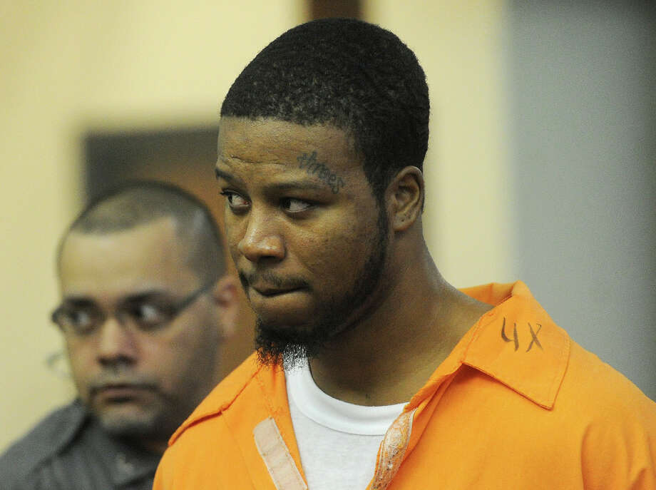 Jamal Hamilton, 24, is arraigned on charges at Superior Court in Bridgeport, Conn. on Wednesday, September 2, 2015 for the June shooting that killed Savonie McNeil, 37, of Shelton,  and wounded eight others at the Trumbull Gardens housing project in Bridgeport. Photo: Brian A. Pounds / Hearst Connecticut Media / Connecticut Post
