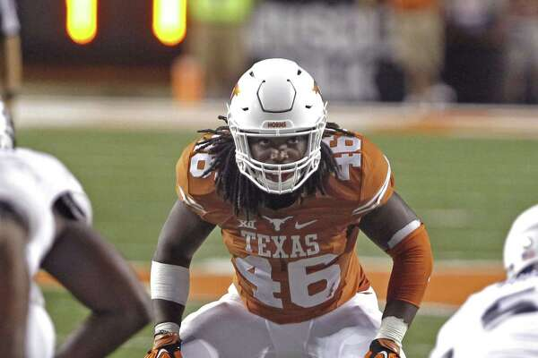 Texas' Malik Jefferson will move back to outside linebacker after struggling last year in the middle.