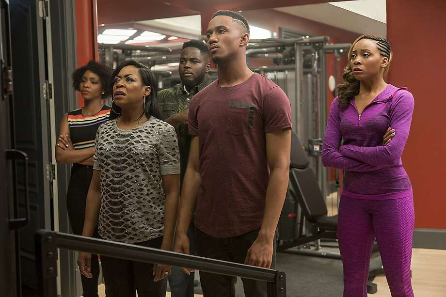 """The cast of """"Survivor's Remorse,"""" which Starz has ordered for a fourth season. Photo: © 2016 Starz Entertainment, LLC"""