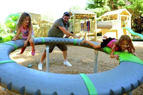 Ansonia Nature Center New Playground