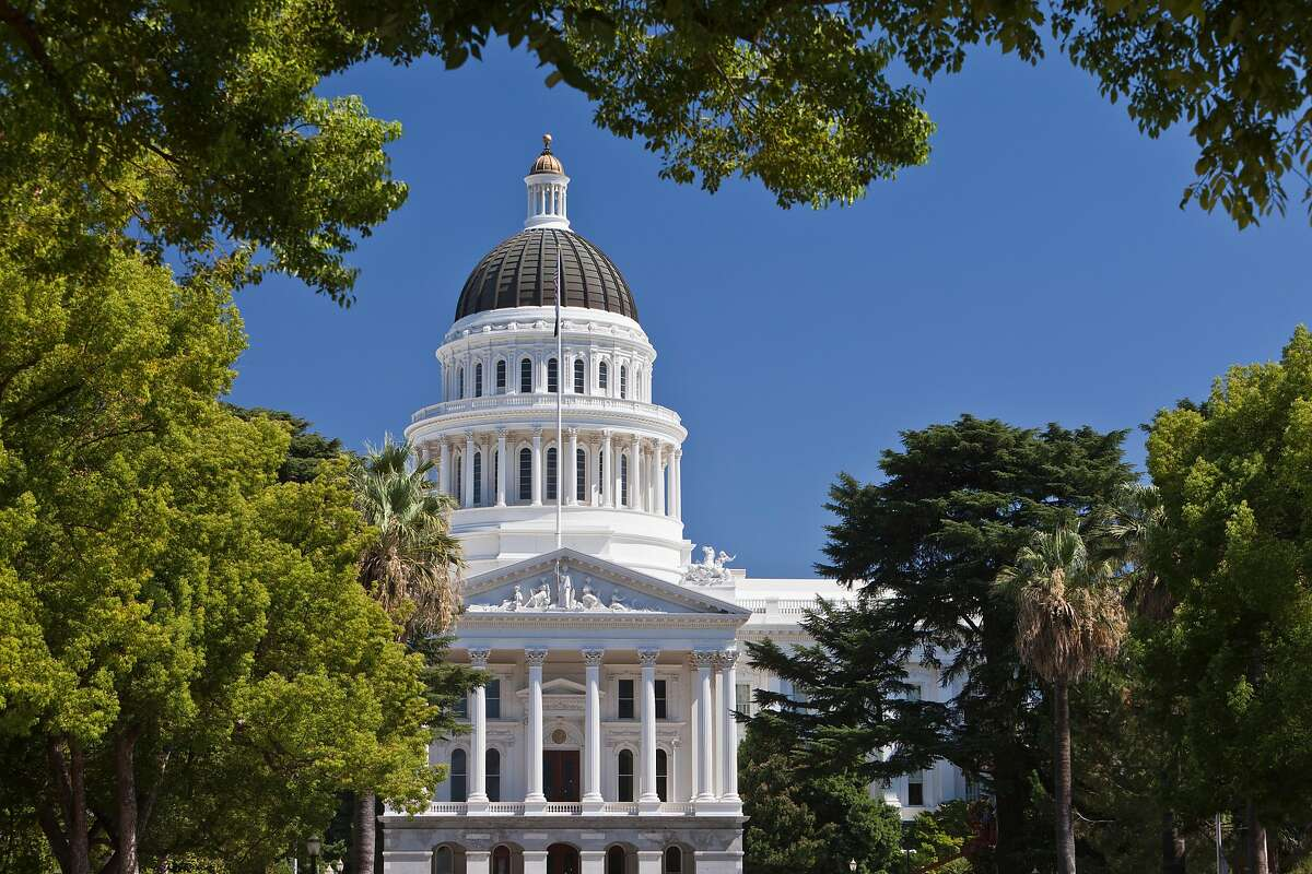 (GERMANY OUT) California State Capitol. It houses the bicameral state legislature and the office of the governor. (Photo by Rolf Schulten/ullstein bild via Getty Images)