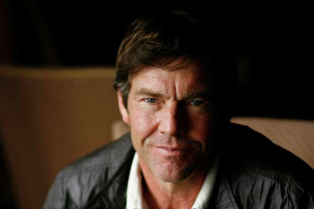 Dennis Quaid poses for a portrait at the Four Season Hotel on Monday, Oct. 6, 2008, in Houston.  ( Sharon Steinmann / Chronicle )