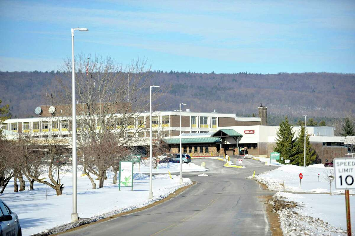 A view of Nathan Littauer Hospital on Thursday, Jan. 7, 2016, in Gloversville, N.Y. The nurses at the hospital were locked out of the hospital following a one-day strike. (Paul Buckowski / Times Union archive)