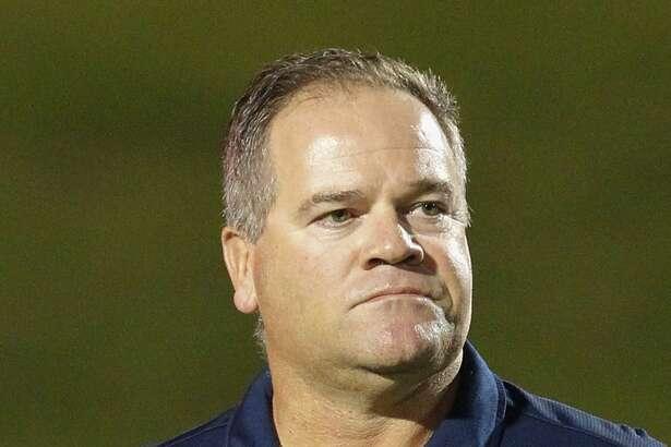 Cy Ranch head football coach Gene Johnson