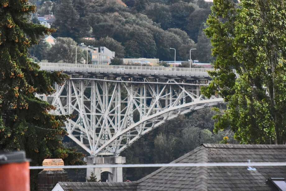 Just one lane will be open in each direction this weekend on Seattle's Aurora Bridge.