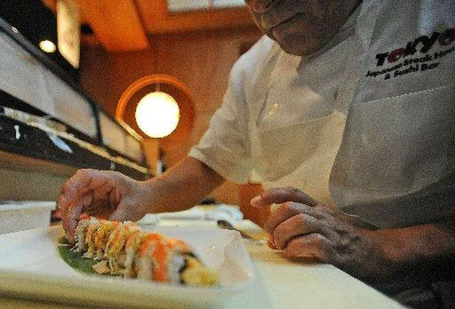 Juan Mejia preps an Obi Roll at Tokyo on I-10. Guiseppe Barranco/cat5