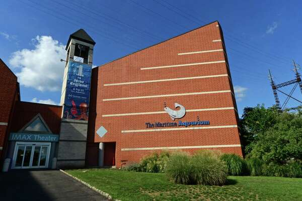 The Maritime Aquarium Imax theater in Norwalk, Conn. Friday, August 26, 2016. The IMAX may be demolished to make way for the Walk Bridge replacement
