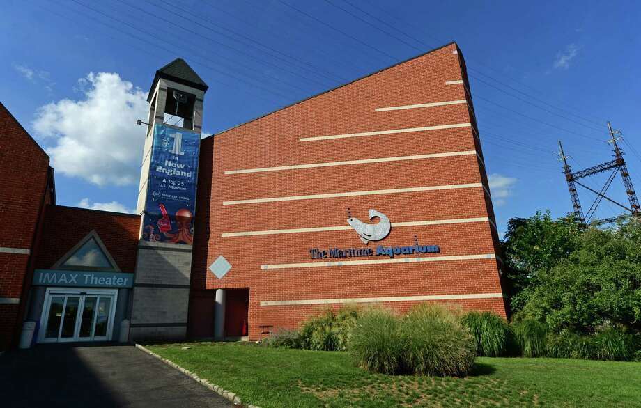 The Maritime Aquarium Imax theater in Norwalk, Conn. Friday, August 26, 2016. The IMAX may be demolished to make way for the Walk Bridge replacement Photo: Erik Trautmann / Hearst Connecticut Media / Norwalk Hour