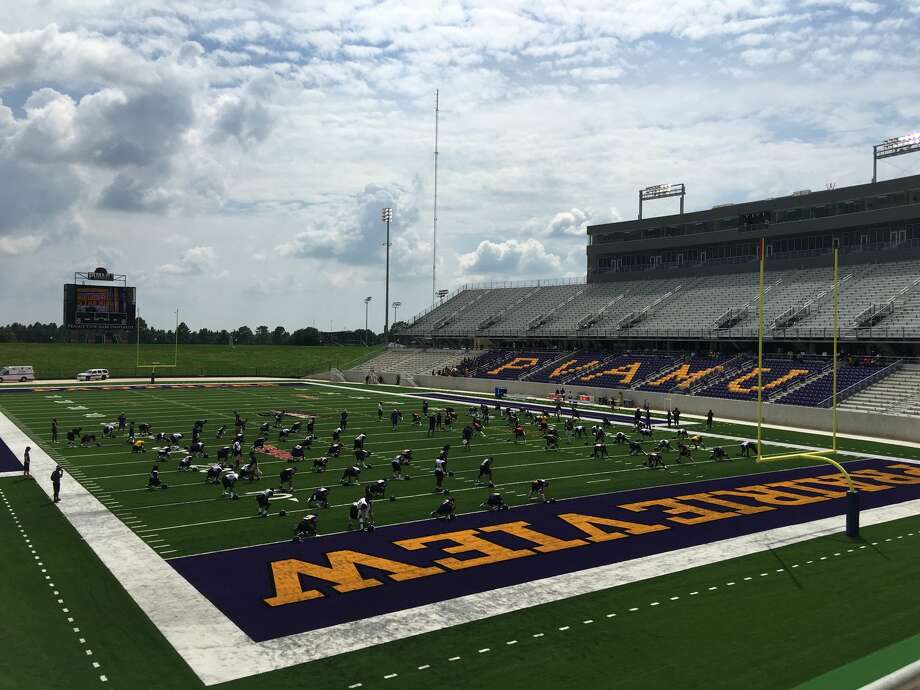 new football stadium ushers in next era at prairie view a m houston chronicle. Black Bedroom Furniture Sets. Home Design Ideas