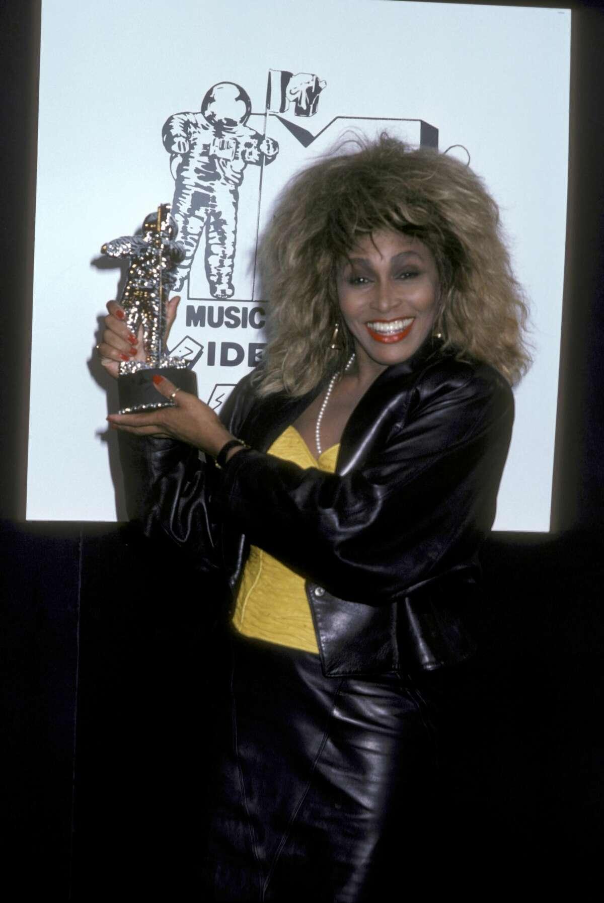 1986:Tina Turner during 1986 MTV Video Music Awards at Palladium in New York City, New York, United States.