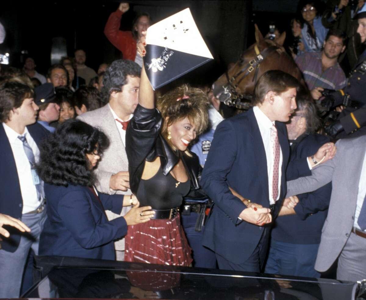 1985:Tina Turner during 1985 MTV Video Music Awards at Radio City Music Hall in New York City, New York, United States.