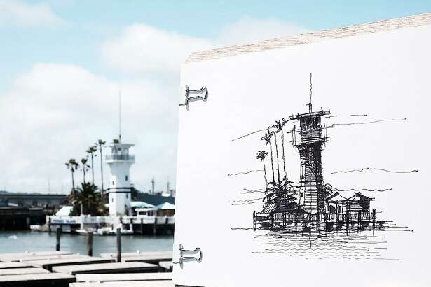 A sketch by architect Dan Hogman, who draws the buildings of San Francisco in his spare time. He shares the sketches (along with his photography and videos) on his Instagram,   @danhogman  .