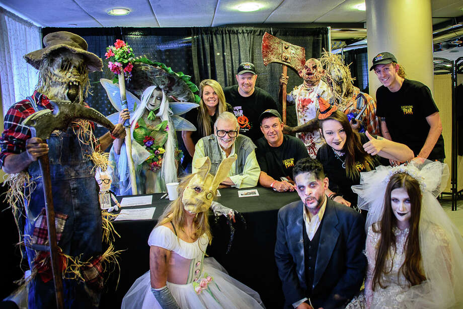 Connecticut Horror Fest, hosted by Horror news Network, was held at the Matrix Conference Center in Danbury on August 27, 2016. Fans met horror celebrities, shopped vendors and participated in costume contests. Were you SEEN? Photo: Jon Edford / Hearst Connecticut