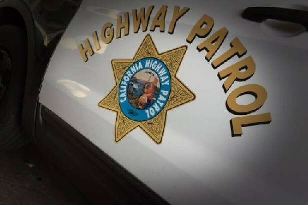 CHP officers shot a man with a knife who was walking on Highway 101 early Sunday in Belmont, officials said.