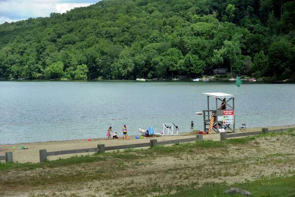 Squantz Pond in New Fairfield on Wednesday, June 29.