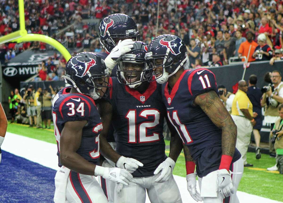 Receivers/Tight ends Will Fuller and Jaelen Strong had touchdown catches. Fuller dropped what would have been an 84-yard touchdown catch. DeAndre Hopkins looked terrific with two receptions for 31 yards in his final tune-up. Grade:B