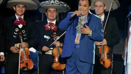 Singer Juan Gabriel, performing in April during the Latin Billboard Awards in Coral Gables, Fla., was a six-time Grammy nominee.