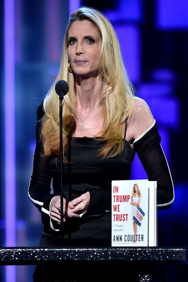 It appears Coulter isn't happy that Drudge portrayed the decision by the school as a positive development. Photo: Alberto E. Rodriguez, Getty Images