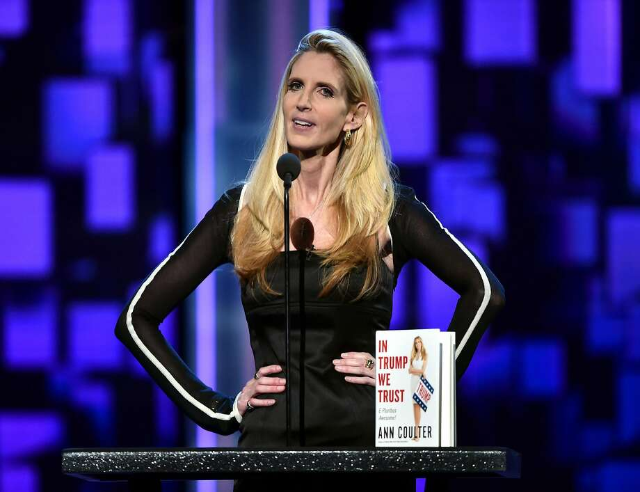 Ann Coulter Photo: Alberto E. Rodriguez, Getty Images