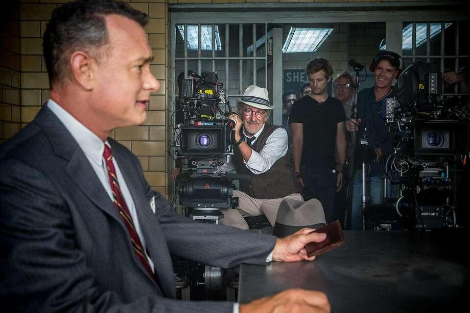 """Tom Hanks on the set of """"Bridge of Spies"""": He got an Oscar too soon. Photo: Jaap Buitendijk, DreamWorks Pictures"""