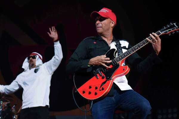 The newly formed super group Prophets of Rage performed at the Mohegan Sun Arena in Uncasville, Conn., on Sunday, August 28, 2016.