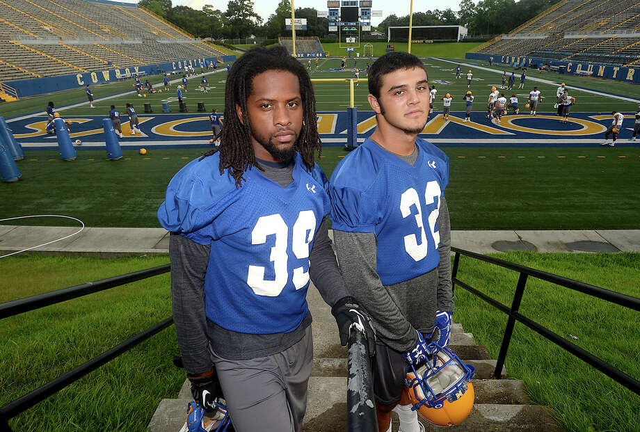Southeast Texas raised players, including Jimmy Salter and Sage Seay, are among the contributing forces at McNeese State University in Lake Charles. Photo taken Friday, August 5, 2016 Kim Brent/The Enterprise Photo: Kim Brent / Beaumont Enterprise
