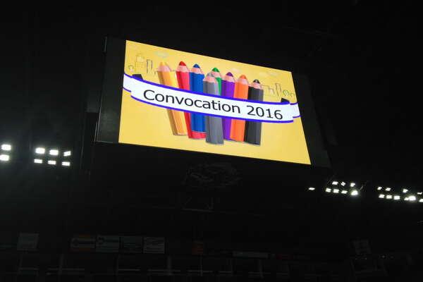 Bridgeport Public Schools holds 2016-17 convocation, Monday August 29, 2016, Webster Bank Arena.