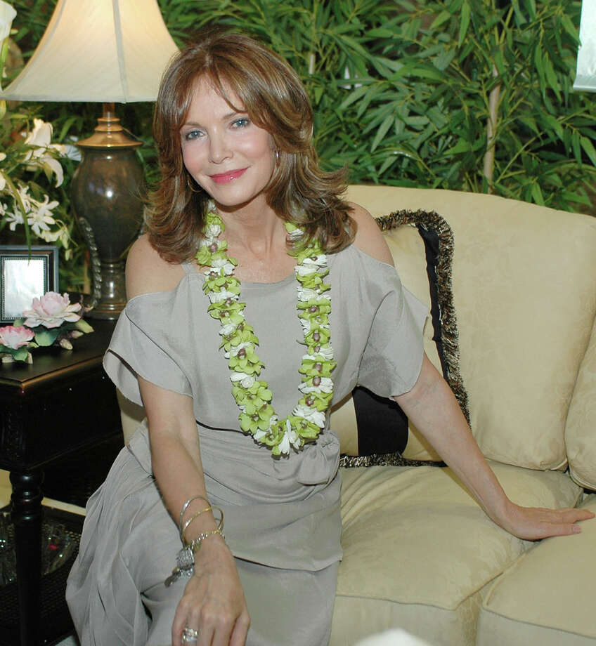 Actress Jaclyn Smith's home furnishings collection included this sofa. Photo: RONEN ZILBERMAN, STR / AP