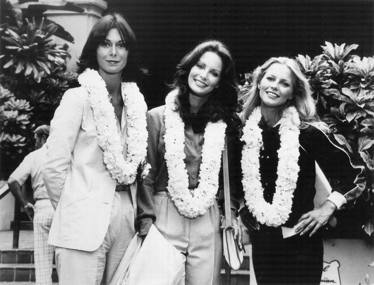 Charlie's Angels: Kate Jackson, Jaclyn Smith, Cheryl Ladd.