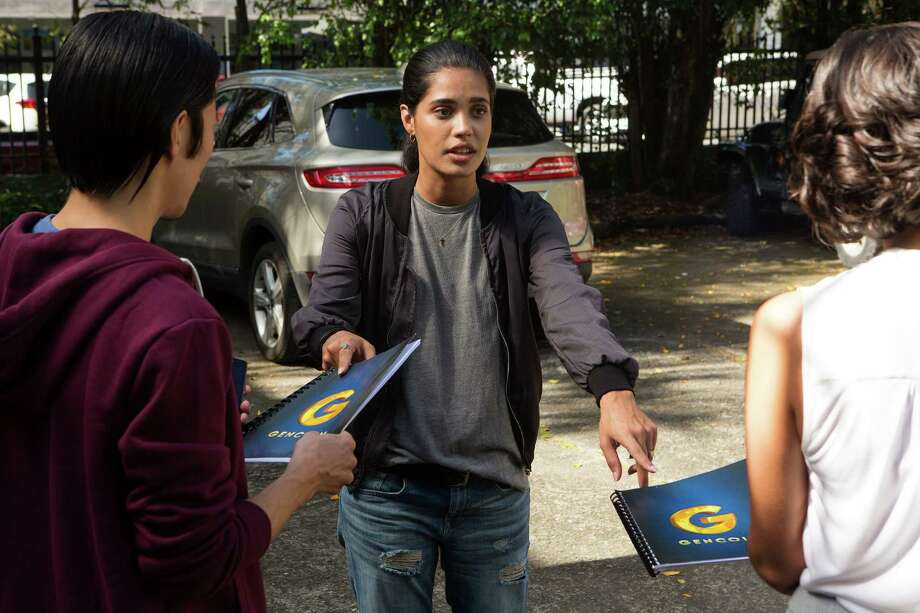 "Otmara Marrero plays young Cuban American tech whiz Isabelle ""Izzy"" Morales, who helps create a digital currency in ""StartUp."" Photo: Francisco Roman / © 2016 Crackle, Inc.  All Rights Reserved."