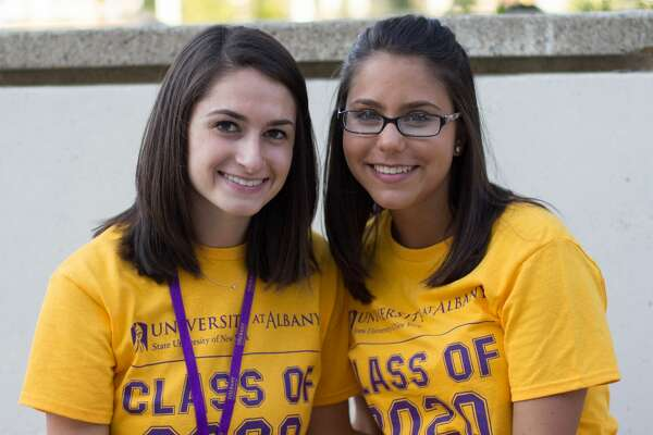 Were you Seen at UAlbany's second annual Convocation Ceremony to officially welcome new students onFriday, Aug. 26, 2016?