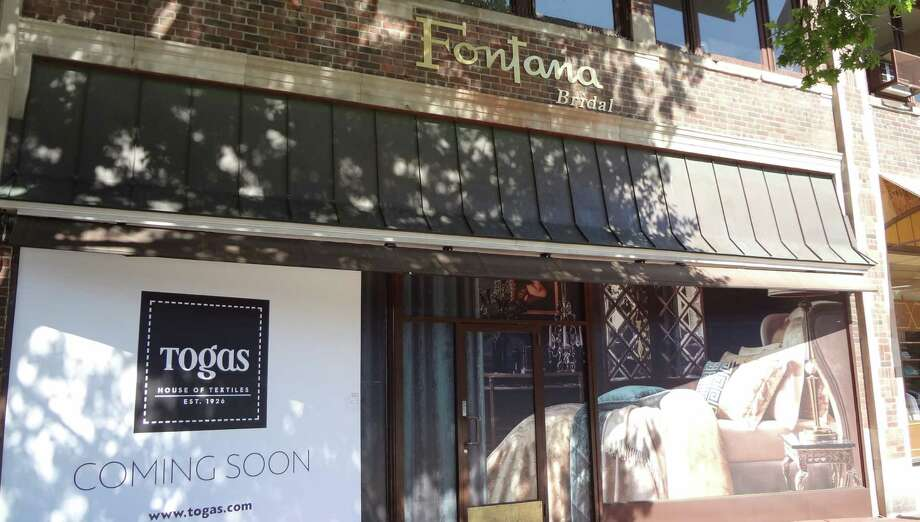 The luxury home textiles company Togas is opening its first U.S. location in Greenwich, at the 51 East Putnam Ave. storefront previously occupied by Fontana Bridal. pictured Aug. 26, 2016. Photo: Alexander Soule / Hearst Connecticut Media / Stamford Advocate