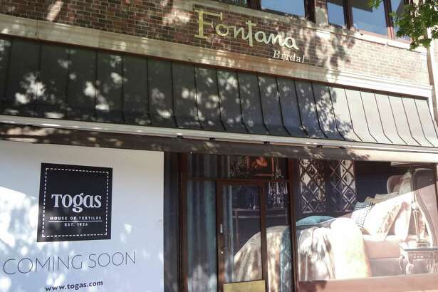 The luxury home textiles company Togas is opening its first U.S. location in Greenwich, at the 51 East Putnam Ave. storefront previously occupied by Fontana Bridal. pictured Aug. 26, 2016.
